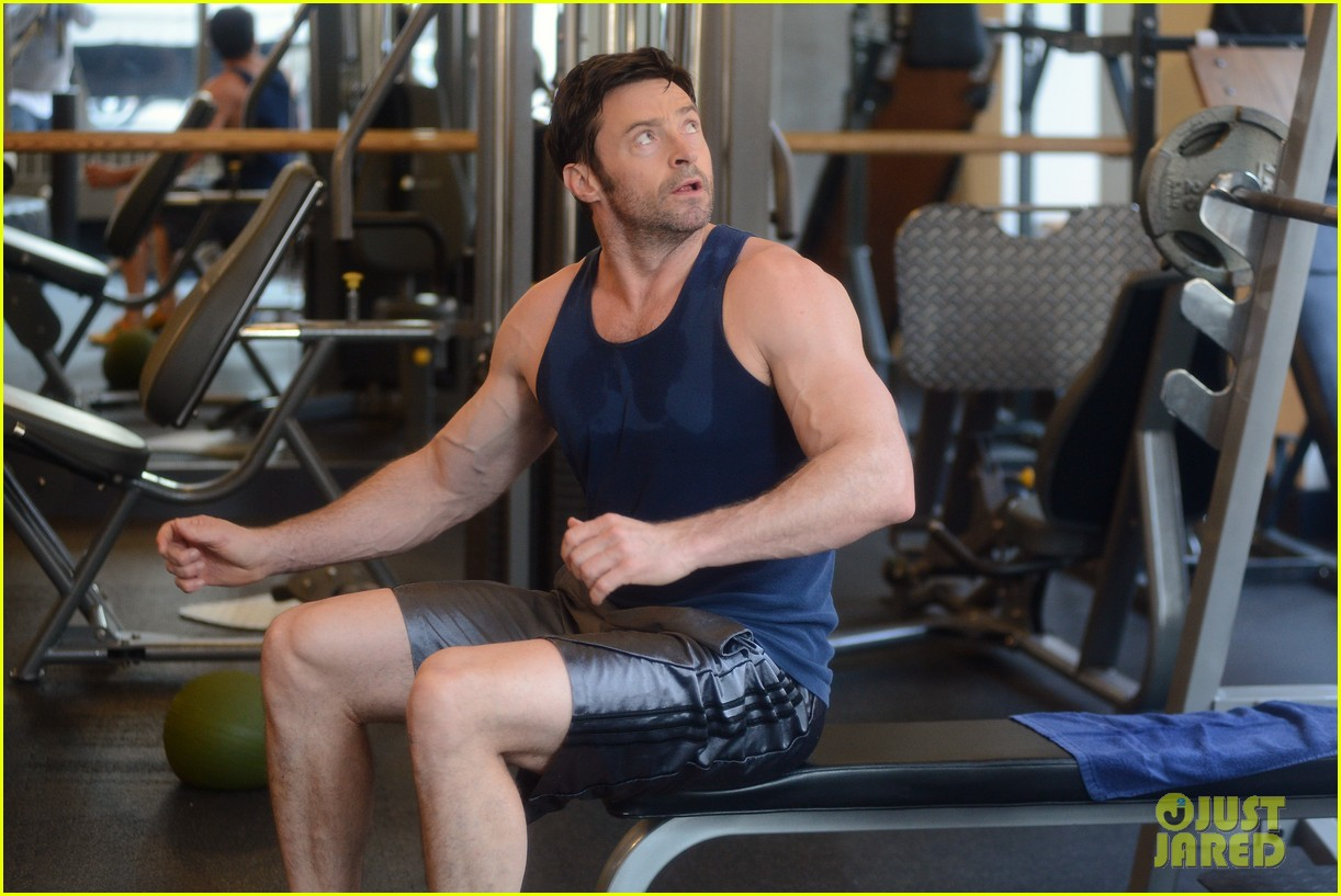 hugh jackman bulging bicep workout 022847023