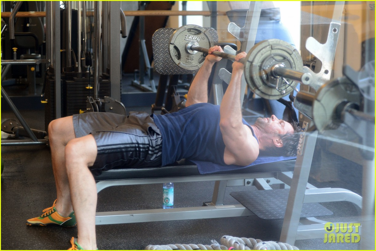 hugh jackman bulging bicep workout 072847028