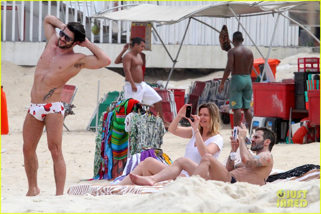 marc jacobs harry louis shirtless speedo pda in rio 162845408