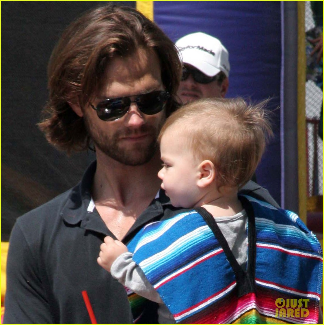jared padalecki farmers market trip with son thomas 042860399