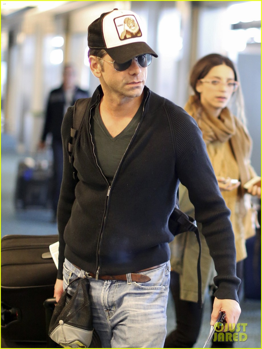 john stamos back to la with angela sarafyan 062841209