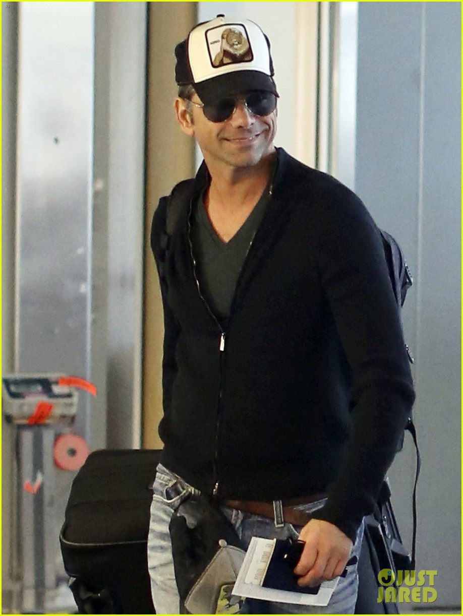 john stamos back to la with angela sarafyan 122841215