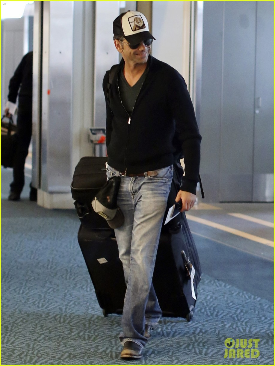 john stamos back to la with angela sarafyan 132841216