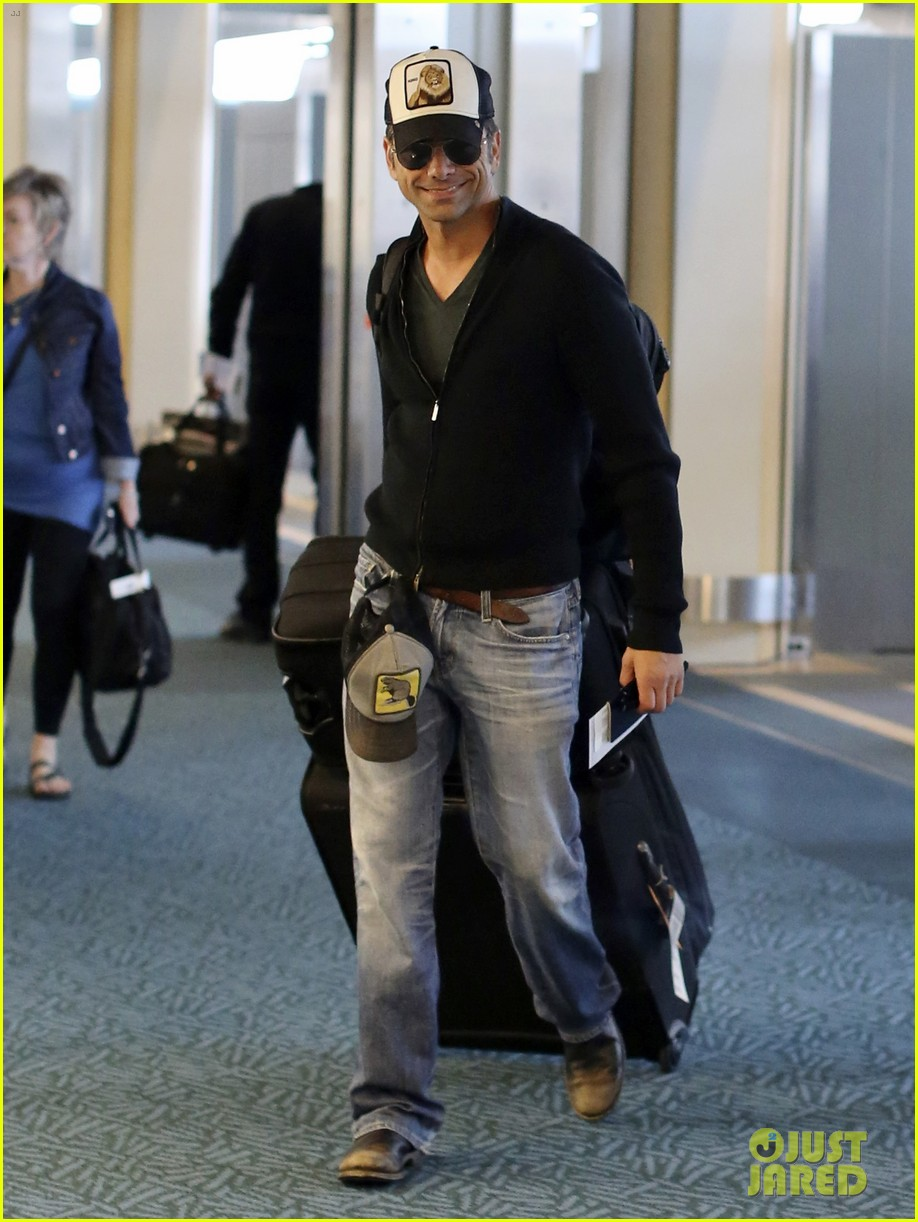 john stamos back to la with angela sarafyan 142841217