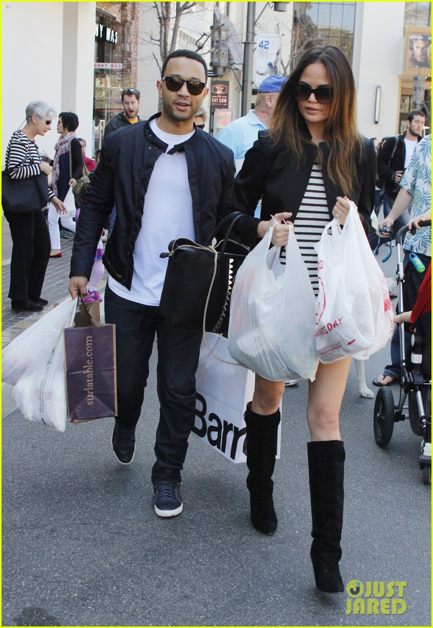 chrissy teigen john legend the grove couple 062841012