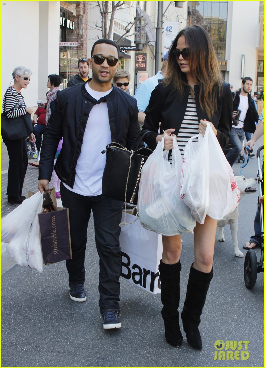chrissy teigen john legend the grove couple 092841015