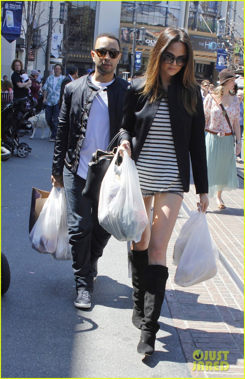 chrissy teigen john legend the grove couple 102841016
