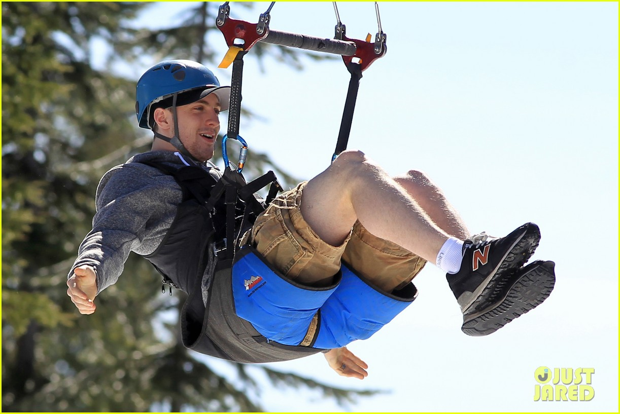 aaron taylor johnson wife sam easter ziplining 022841494