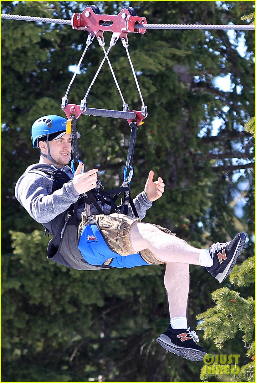 aaron taylor johnson wife sam easter ziplining 062841498