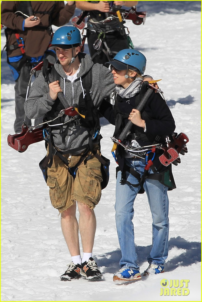 aaron taylor johnson wife sam easter ziplining 112841503