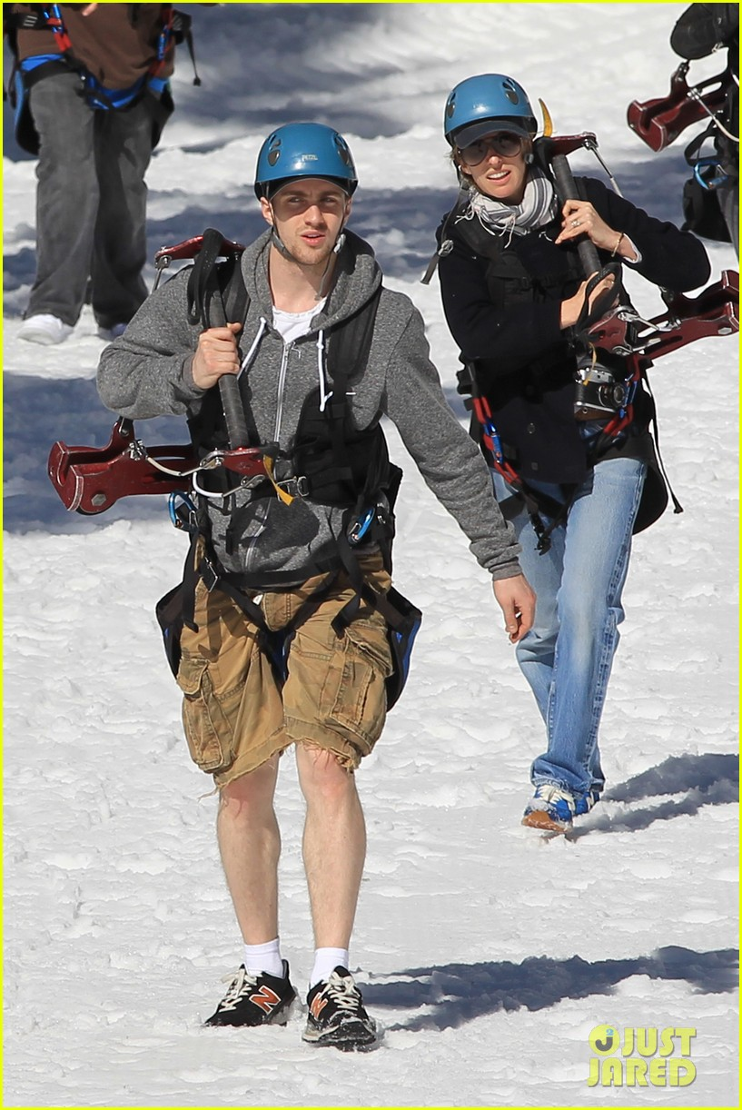 aaron taylor johnson wife sam easter ziplining 122841504