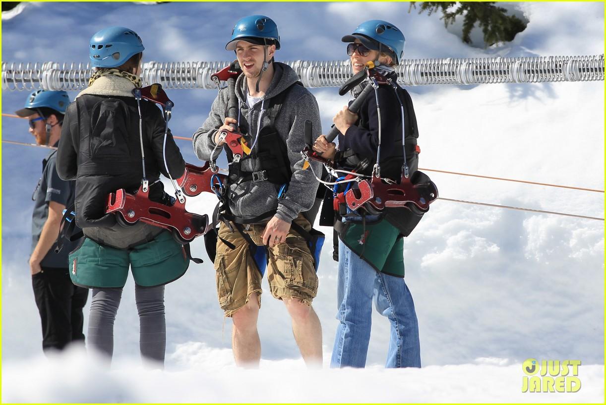 aaron taylor johnson wife sam easter ziplining 132841505