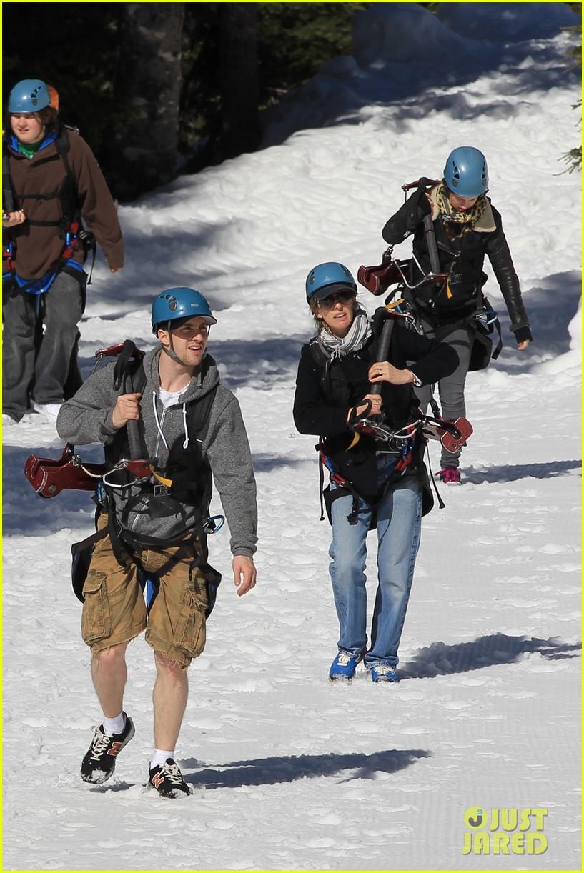 aaron taylor johnson wife sam easter ziplining 152841507