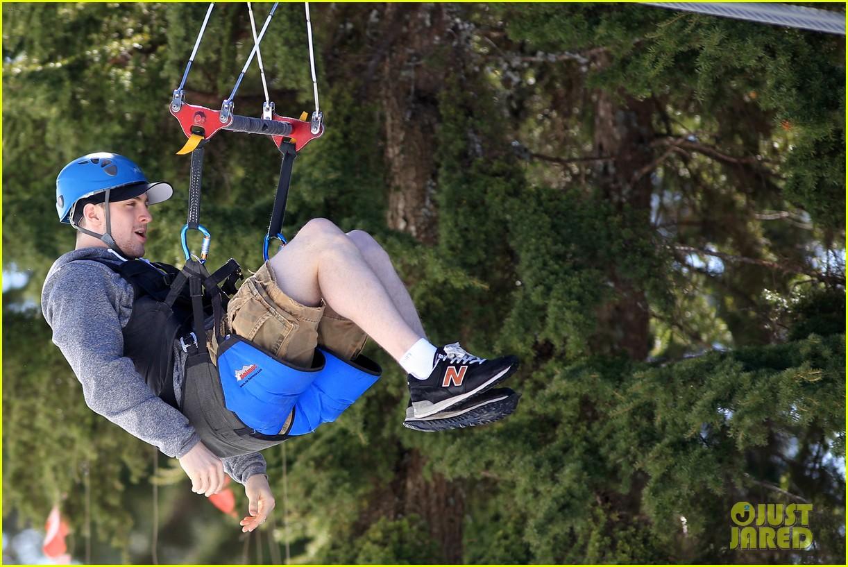 aaron taylor johnson wife sam easter ziplining 192841511