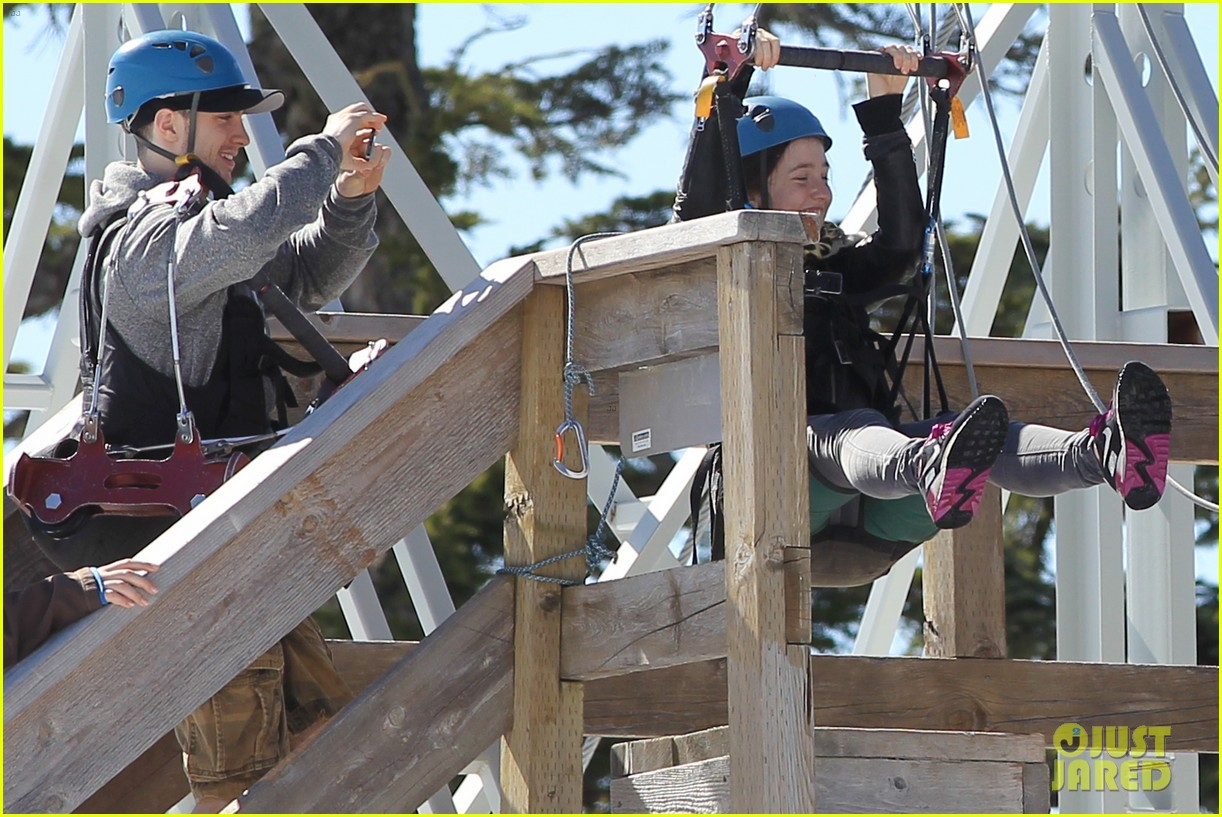 aaron taylor johnson wife sam easter ziplining 202841512