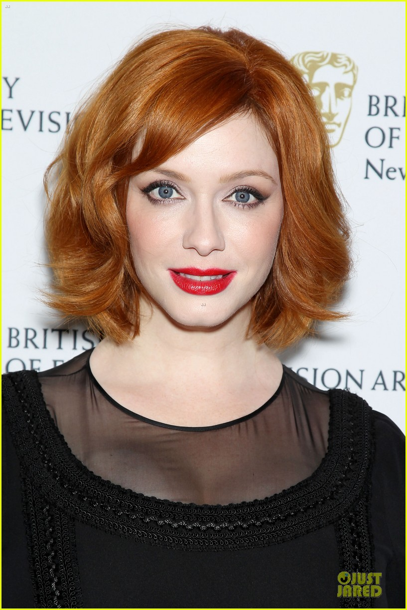 january jones christina hendricks bafta mad men panel 272856108