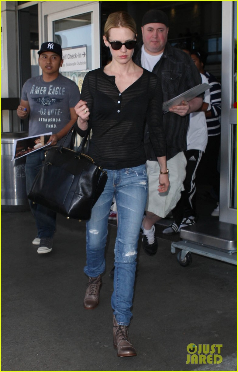 january jones sheer lax landing 172858956
