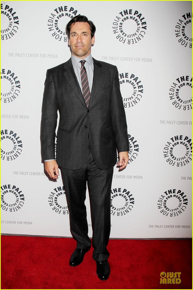 january jones jon hamm mad men paley presentation 162856785