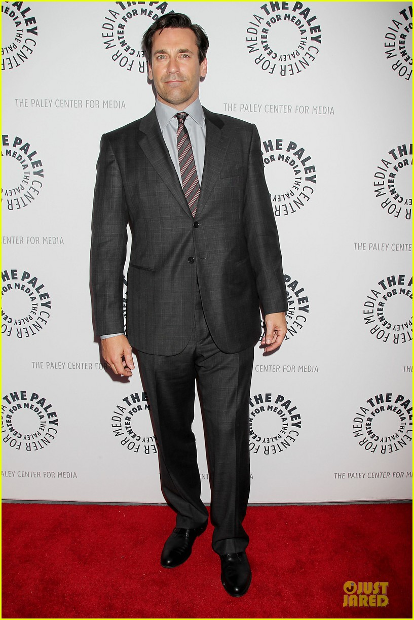 january jones jon hamm mad men paley presentation 172856786