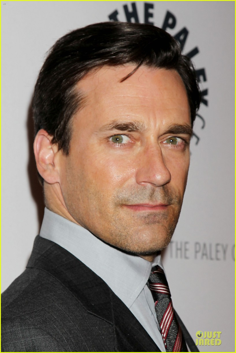 january jones jon hamm mad men paley presentation 182856787