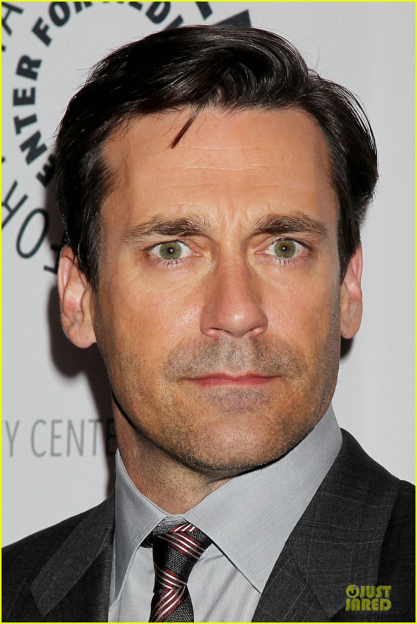 january jones jon hamm mad men paley presentation 282856797