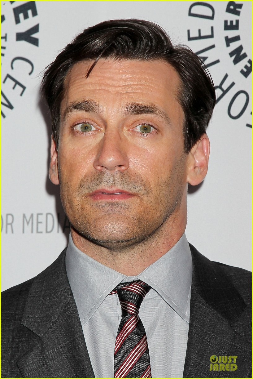 january jones jon hamm mad men paley presentation 33