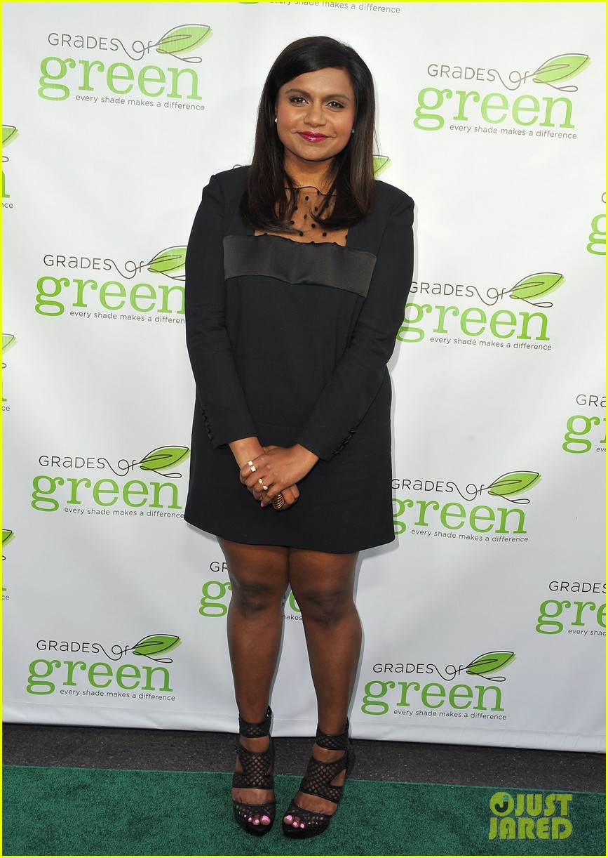 mindy kaling darren criss verde grades of green fundraiser 102848187