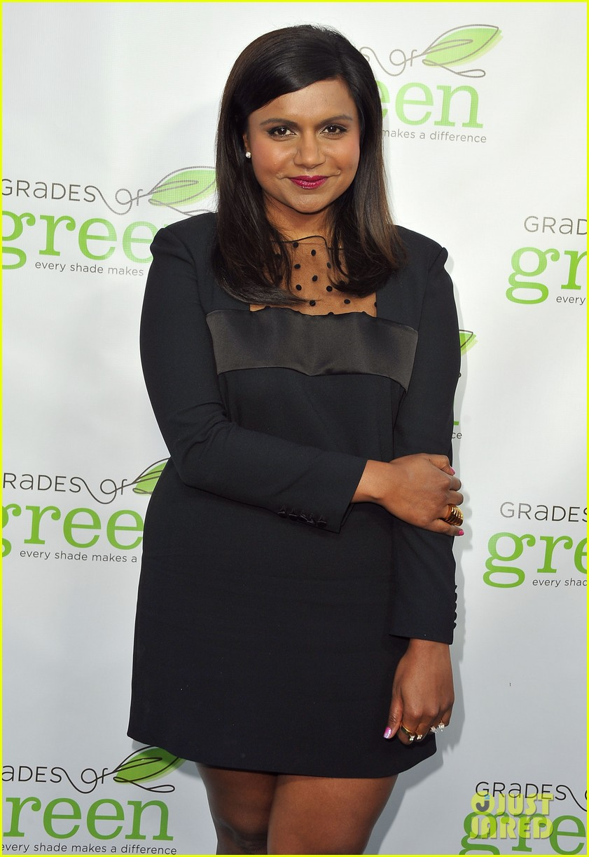 mindy kaling darren criss verde grades of green fundraiser 12