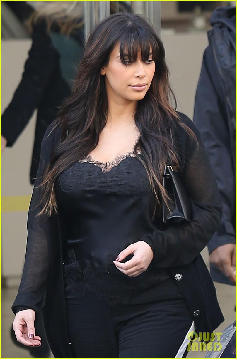 kim kardashian pregnant paris getaway with kanye west 042841964