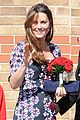 kate middleton pregnant baby bump at willows school 04