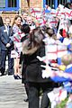 kate middleton pregnant baby bump at willows school 05