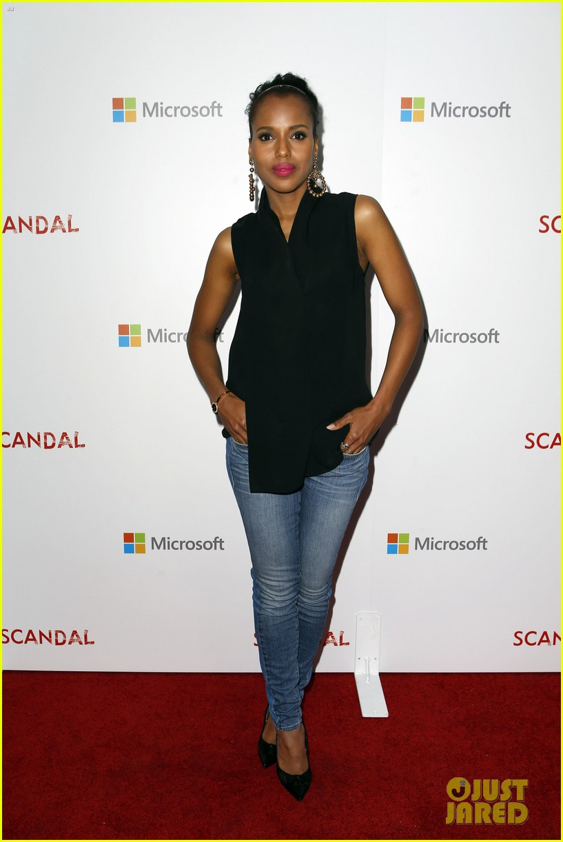 kerry washington scandal season two wrap party 012854800