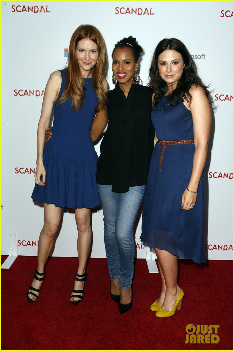 kerry washington scandal season two wrap party 022854801