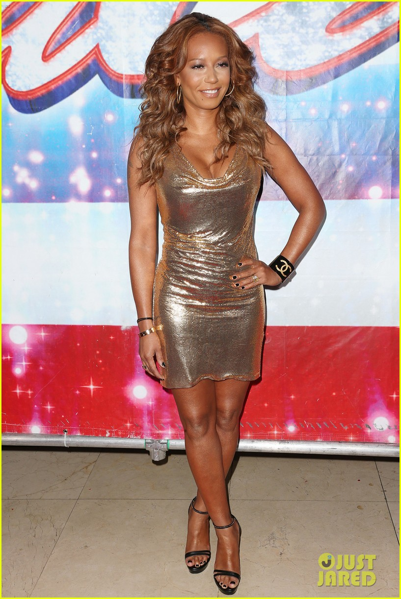 heidi klum mel b americas got talent in los angeles 172857509