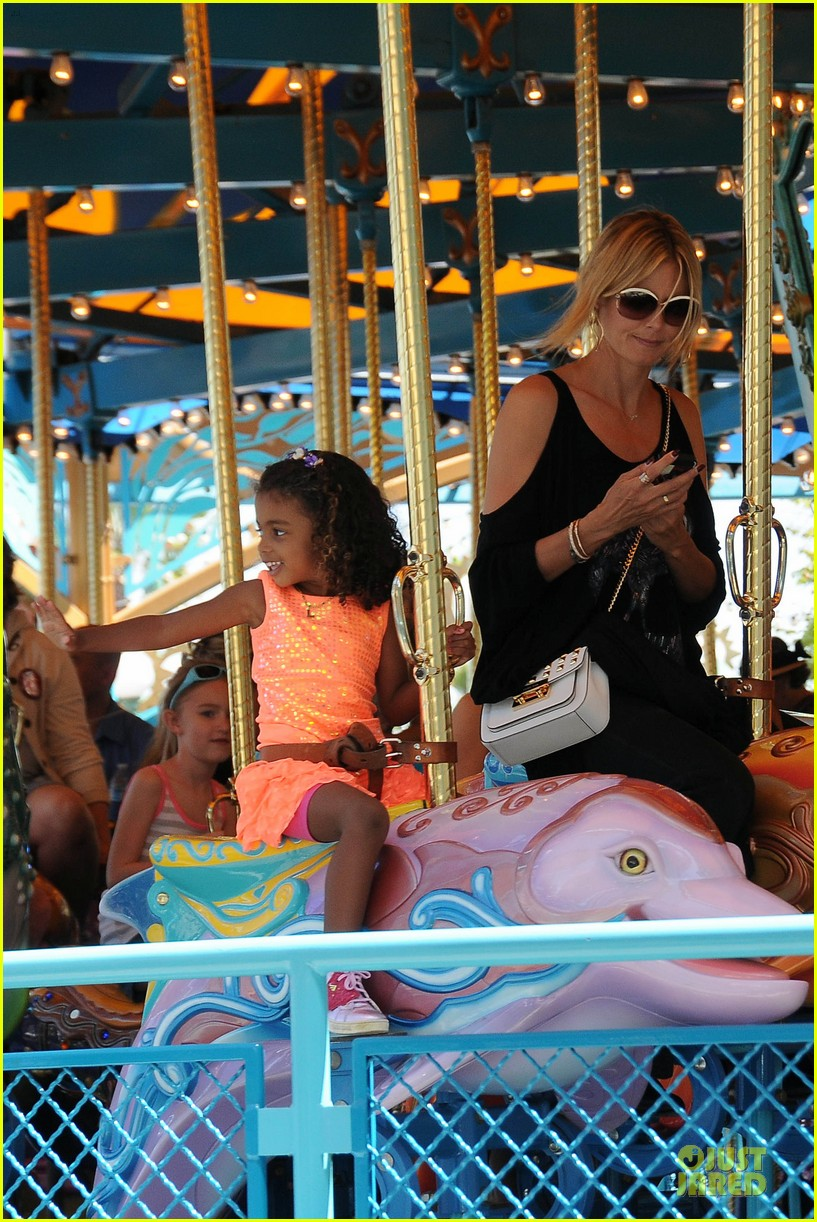 heidi klum martin kirsten disneyland fun with the kids 092844010