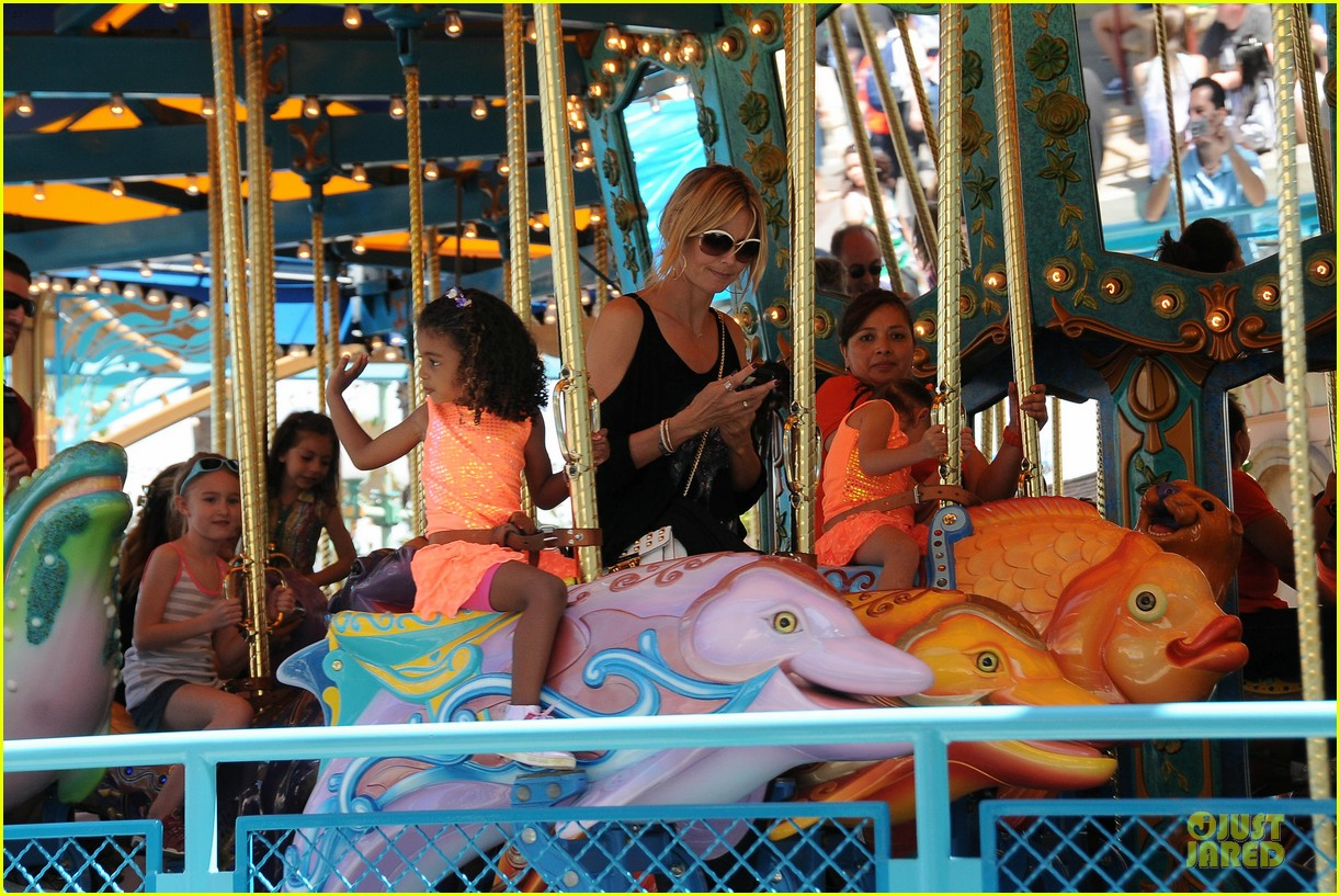 heidi klum martin kirsten disneyland fun with the kids 122844013