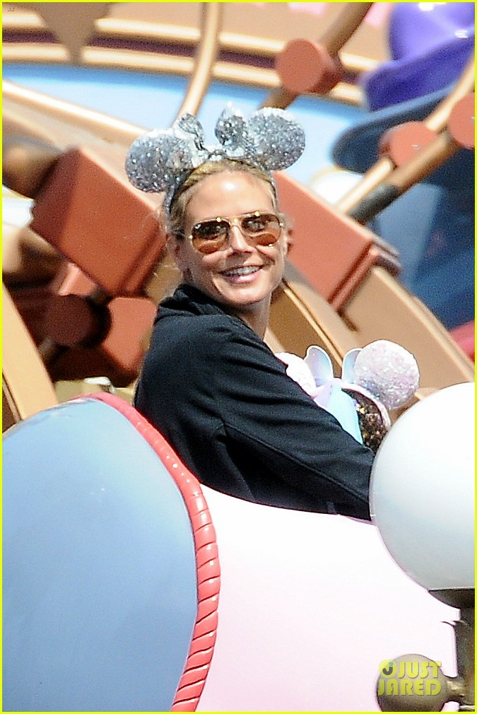 heidi klum martin kirsten disneyland fun with the kids 242844025