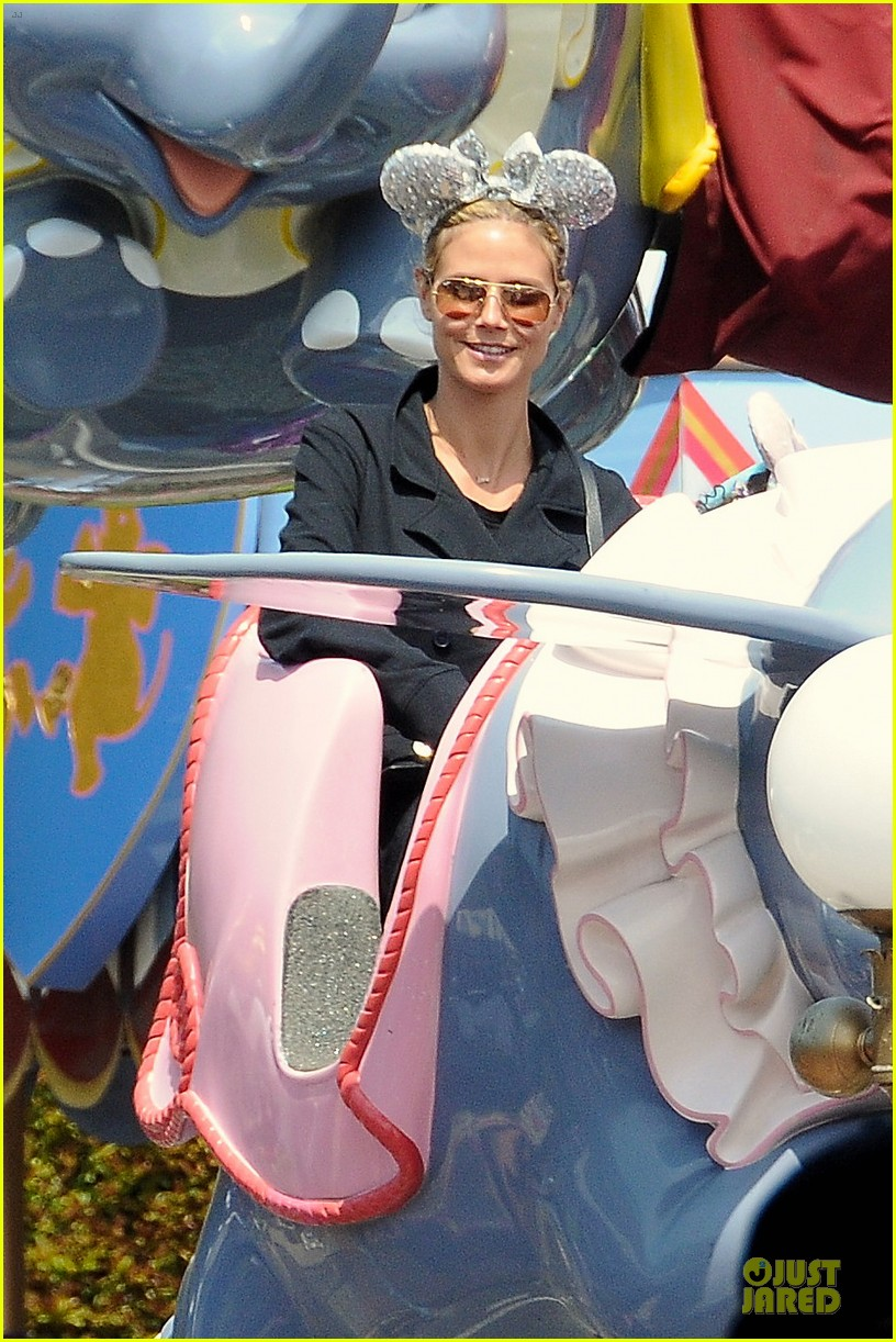 heidi klum martin kirsten disneyland fun with the kids 272844028