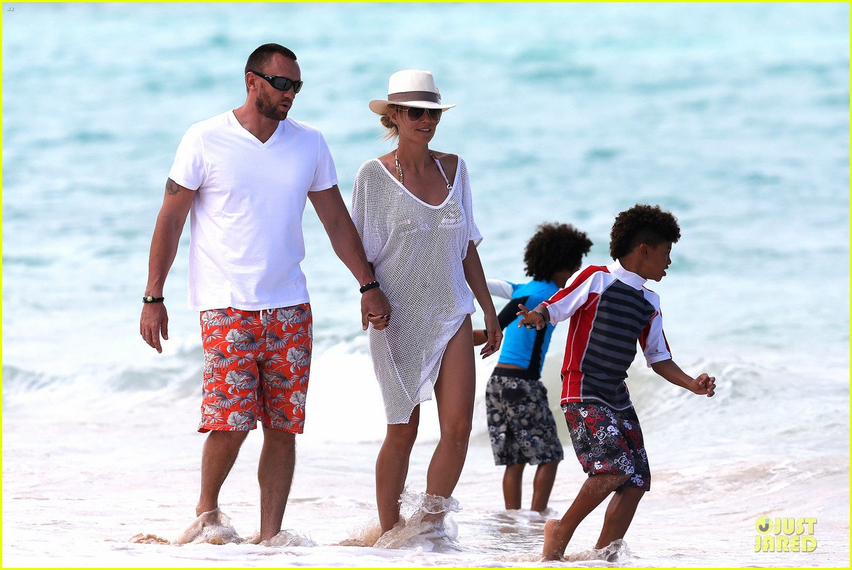 heidi klum family back in l a after hawaii drowning save 292842229