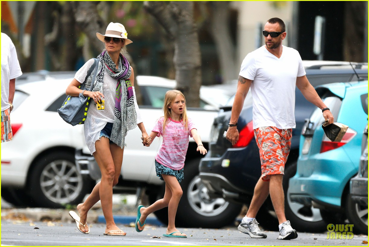 heidi klum family back in l a after hawaii drowning save 302842230