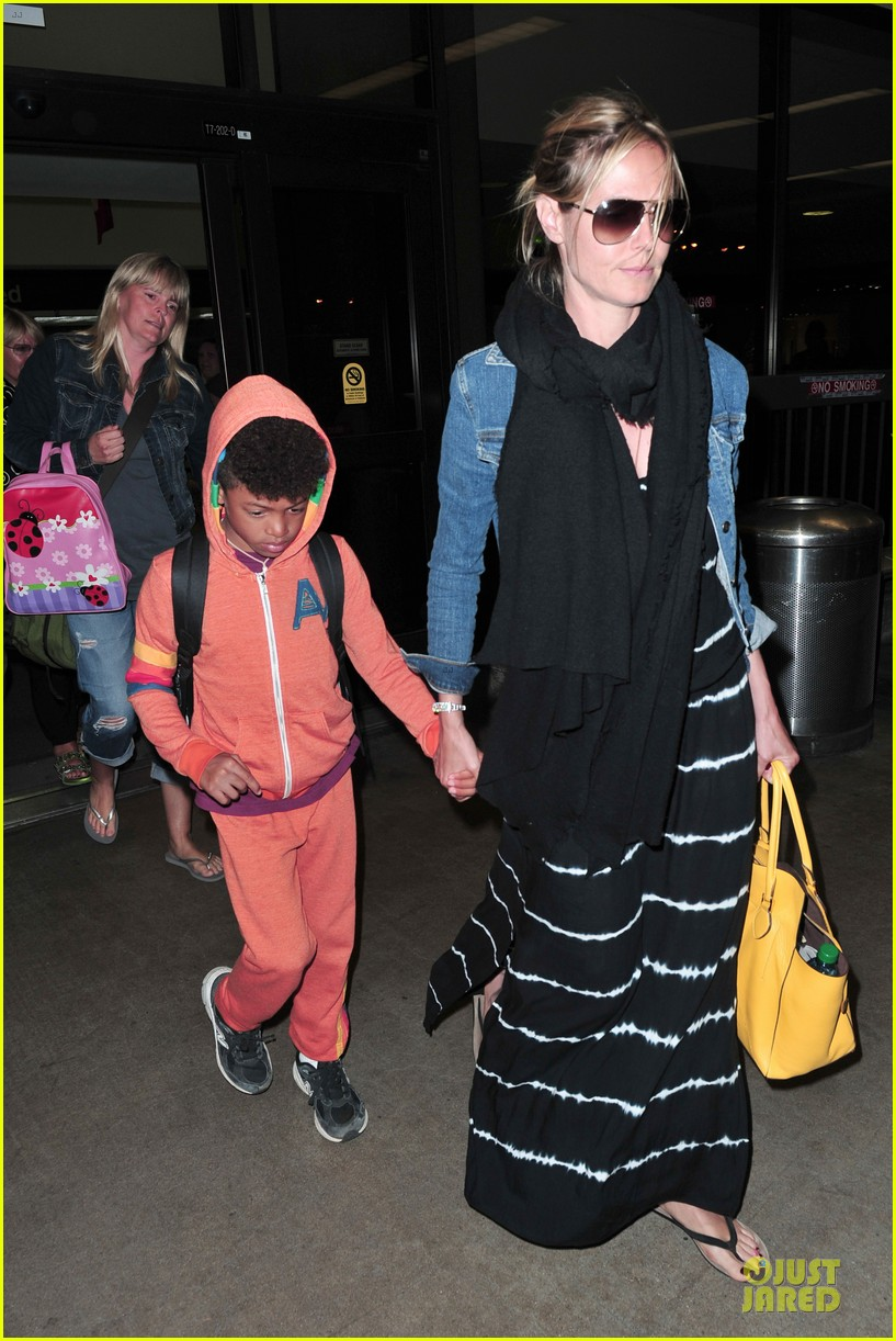 heidi klum family back in l a after hawaii drowning save 402842240