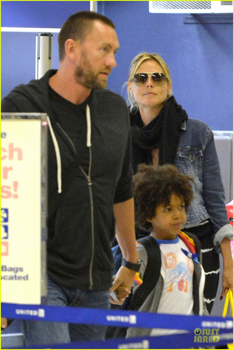 heidi klum family back in l a after hawaii drowning save 43