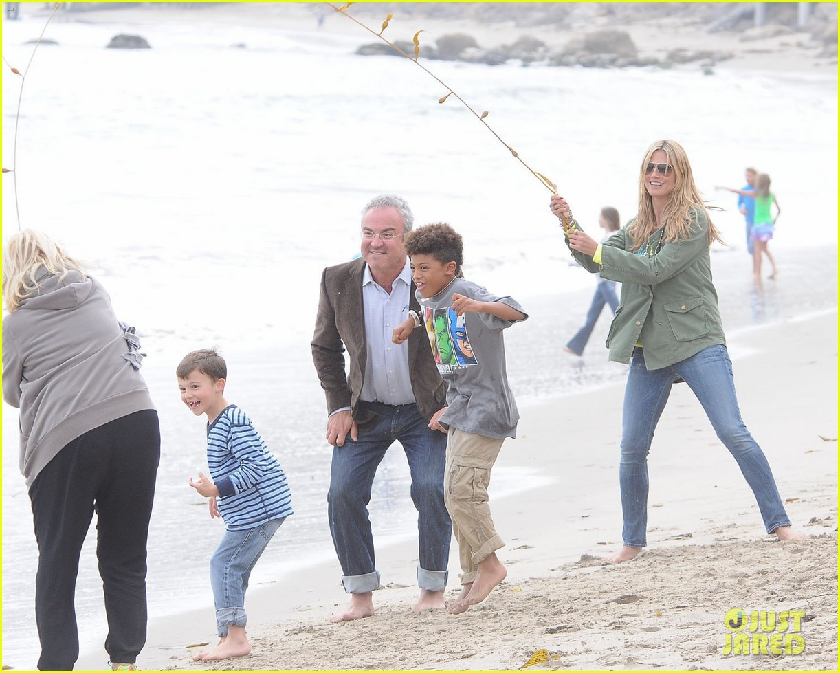 heidi klum family weekend ellen appearance 162850624