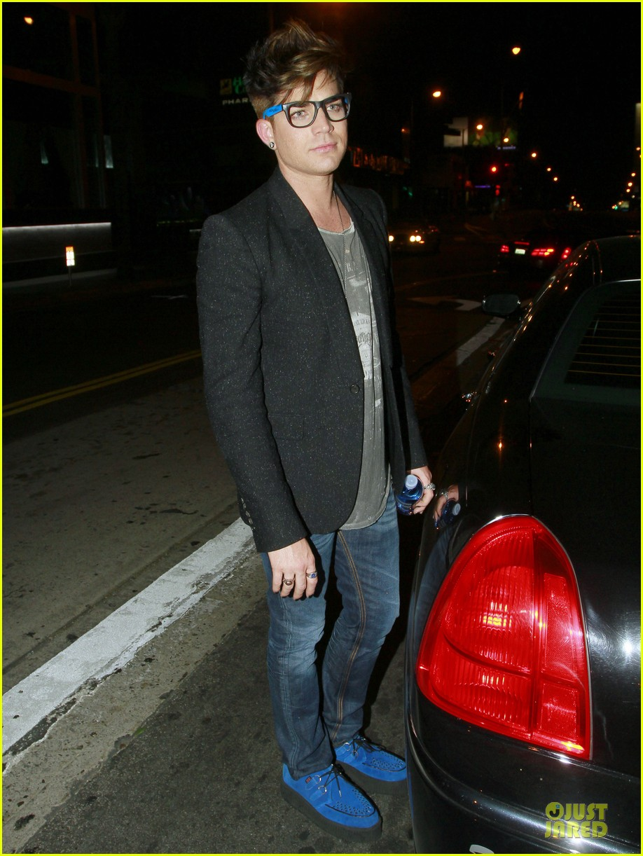 adam lambert bootsy bellows nightclub after sauli koskinen split 01
