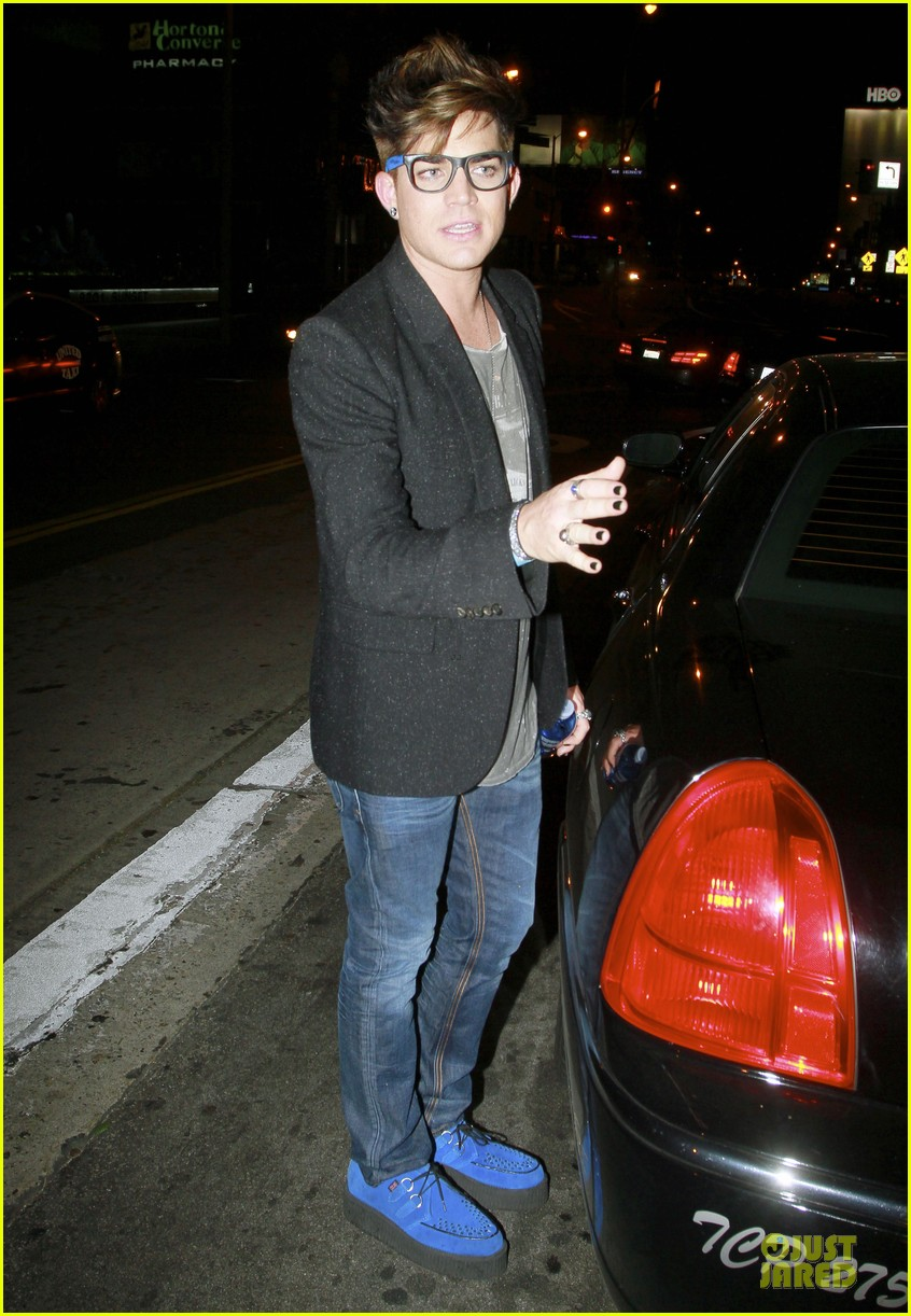 adam lambert bootsy bellows nightclub after sauli koskinen split 03