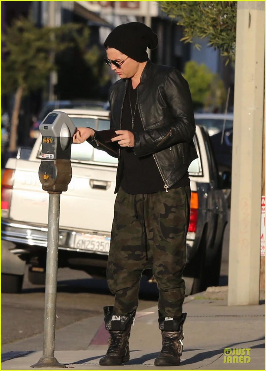 adam lambert camouflaged pants meeting 082846553