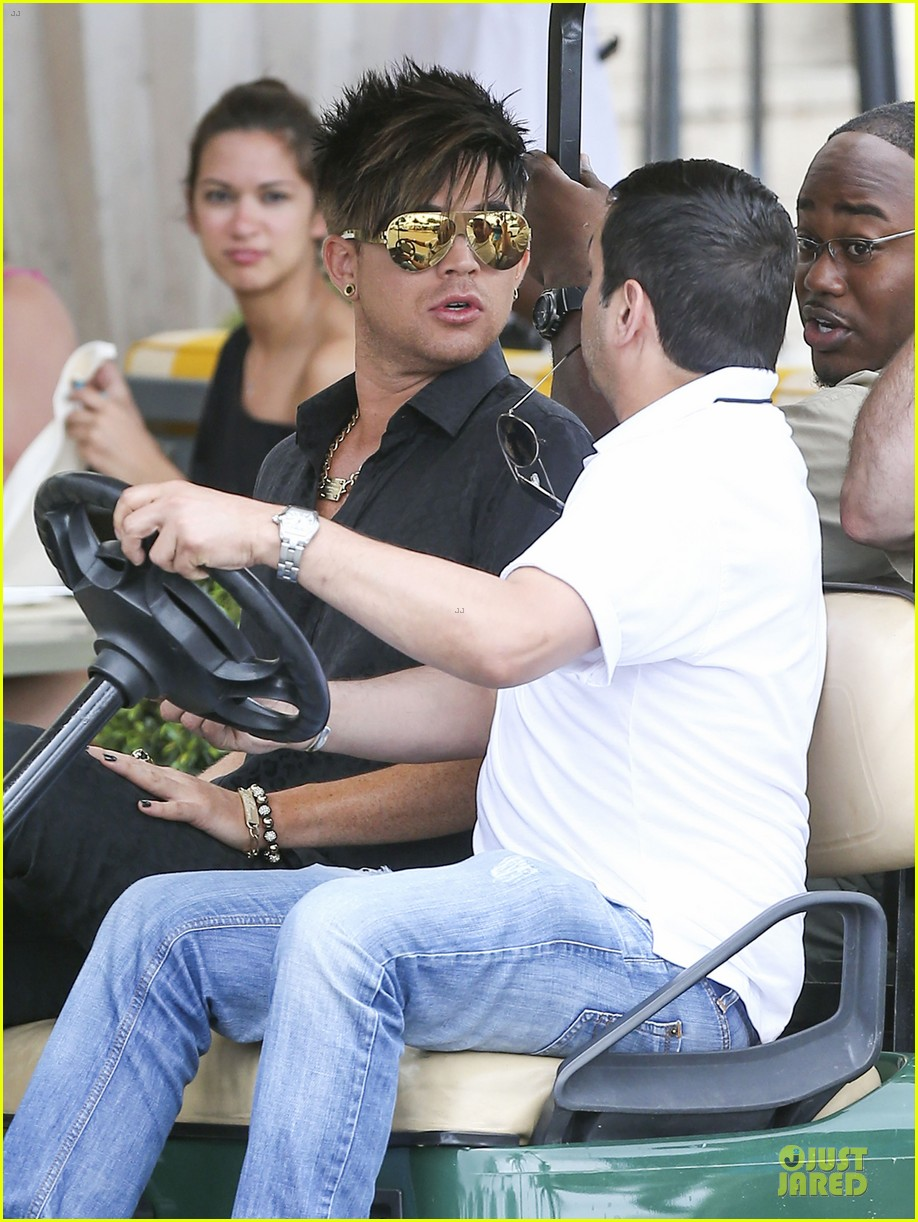 adam lambert miami beach gay pride parade performer 04