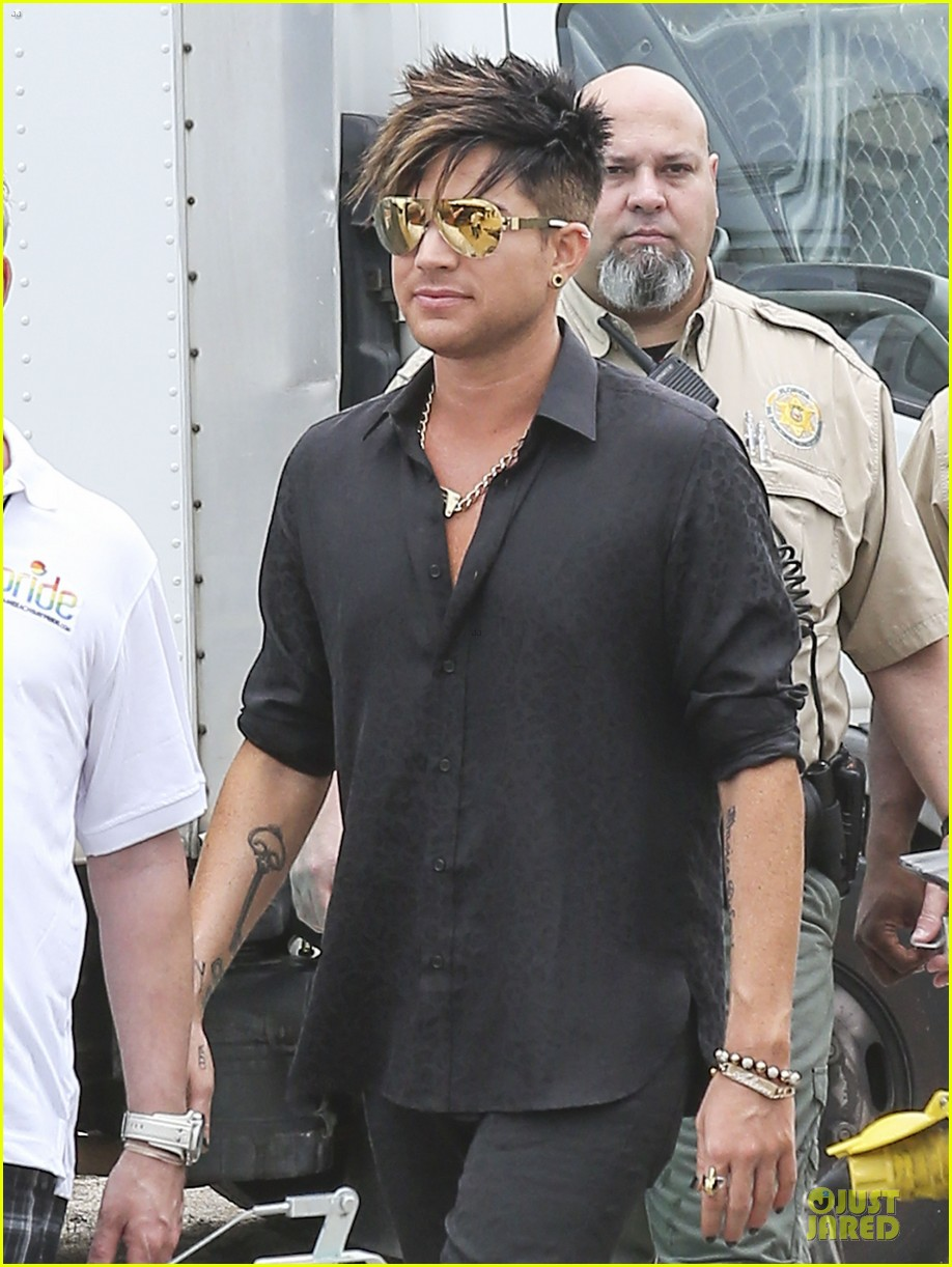 adam lambert miami beach gay pride parade performer 062848829