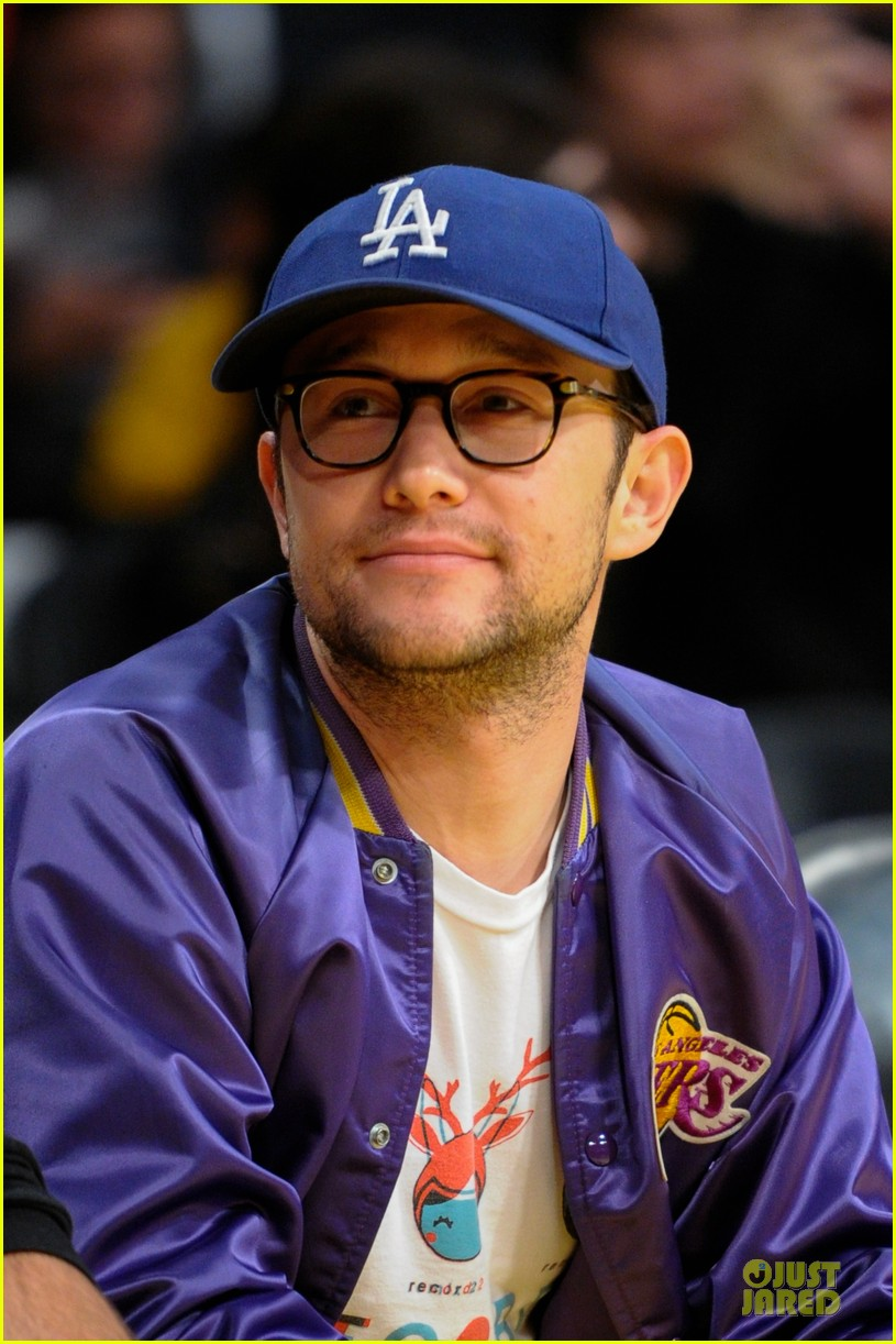 joseph gordon levitt los angeles lakers playoff game 022859148