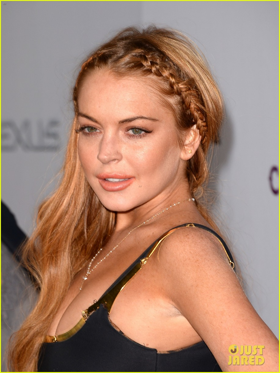 lindsay lohan scary movie 5 premiere with charlie sheen 11